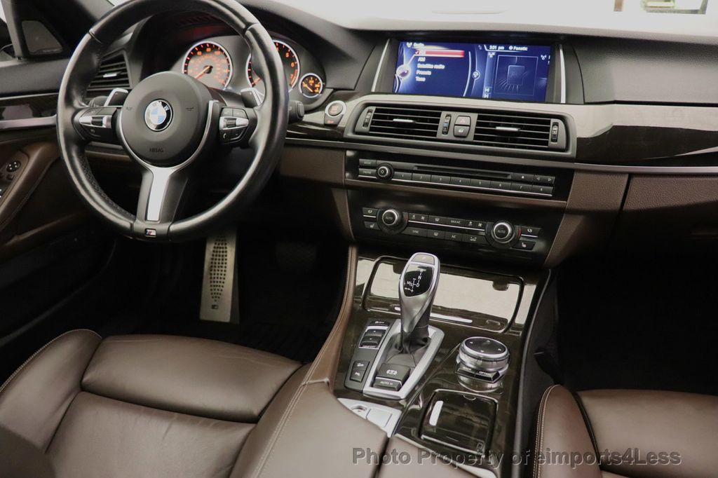 2016 BMW 5 Series CERTIFIED 535i xDrive M Sport AWD HUD HK CAMERA NAV - 18518154 - 24