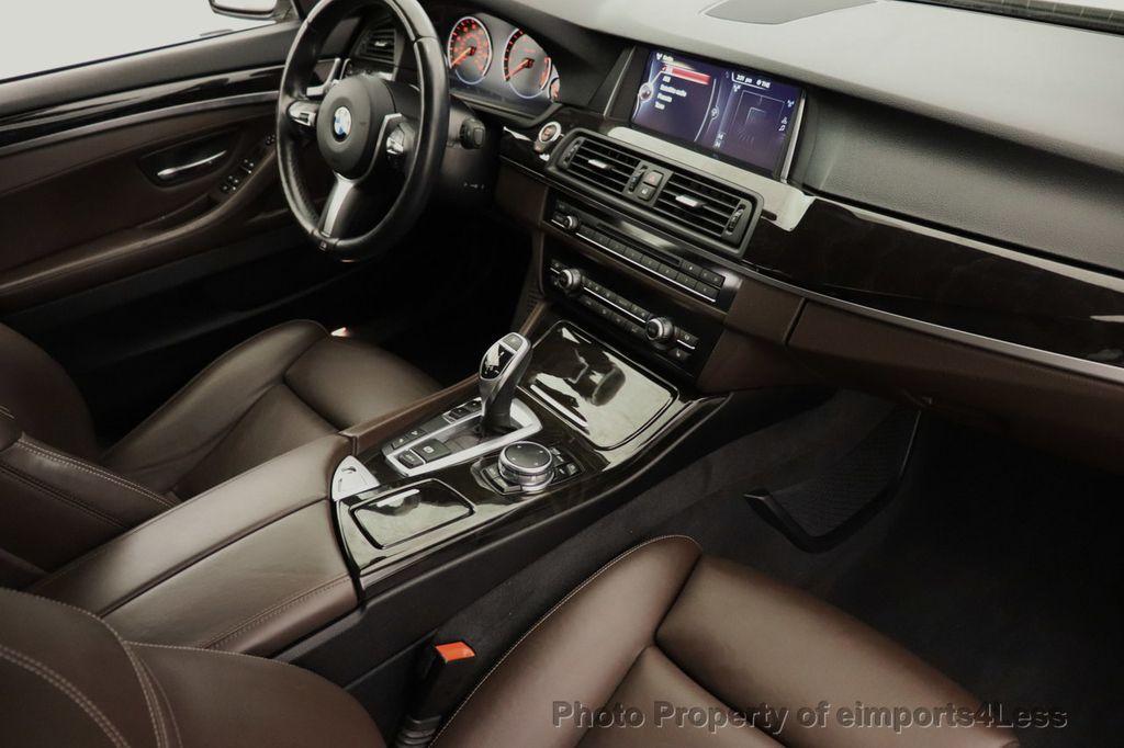 2016 BMW 5 Series CERTIFIED 535i xDrive M Sport AWD HUD HK CAMERA NAV - 18518154 - 25