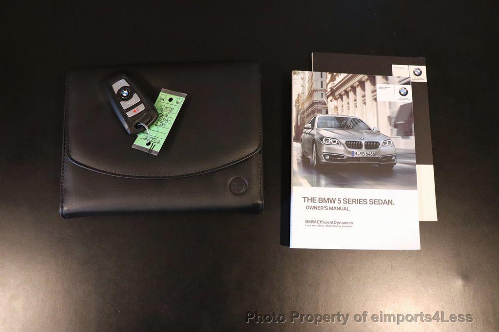 2016 BMW 5 Series CERTIFIED 535i xDrive M Sport AWD HUD HK CAMERA NAV - 18518154 - 30