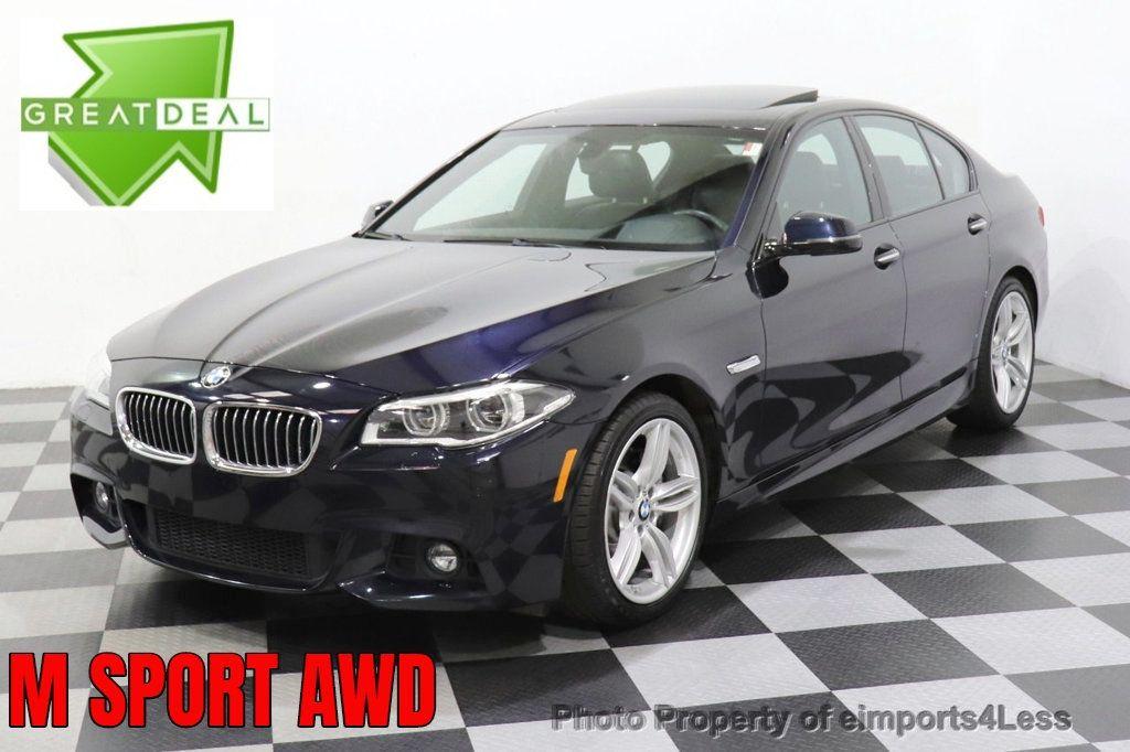 2016 BMW 5 Series CERTIFIED 535i xDrive M Sport AWD HUD LED CAM NAV - 18518155 - 0