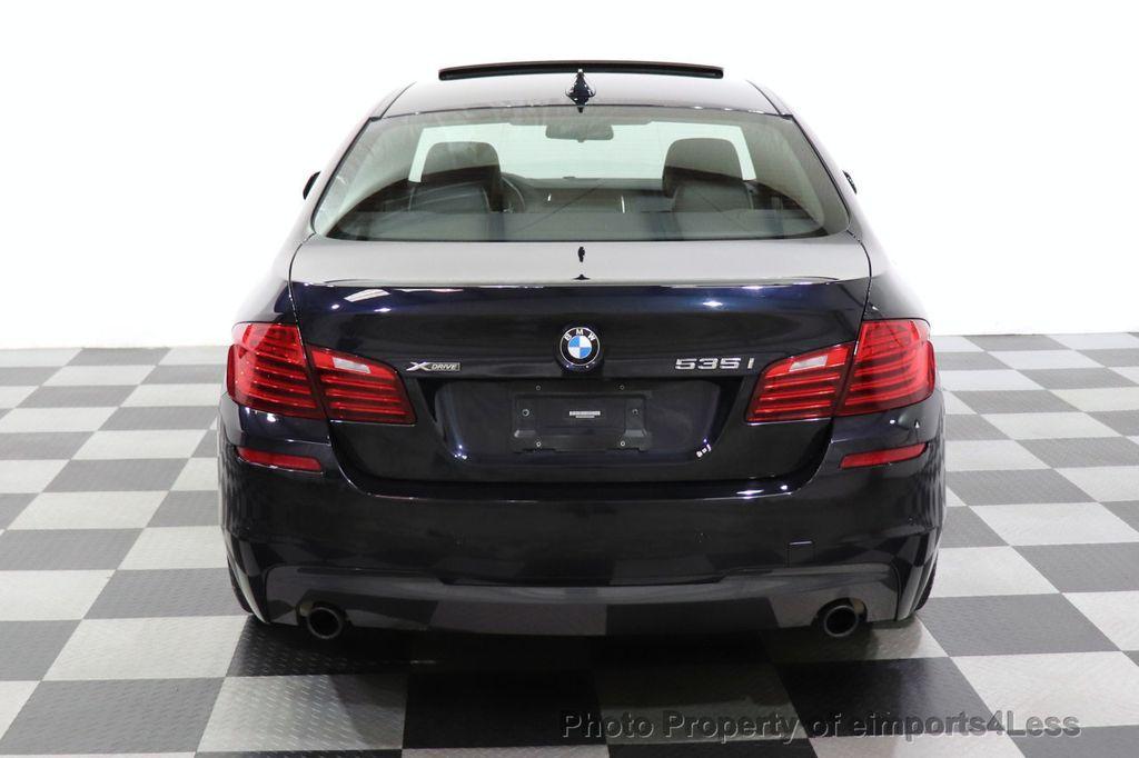 2016 BMW 5 Series CERTIFIED 535i xDrive M Sport AWD HUD LED CAM NAV - 18518155 - 17