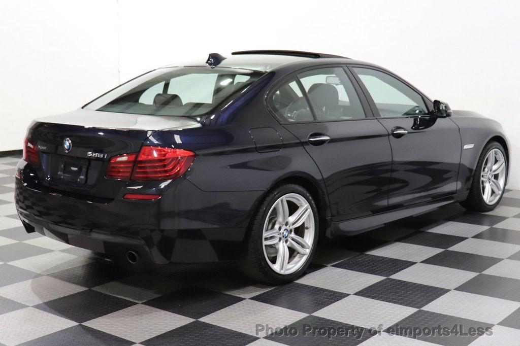 2016 BMW 5 Series CERTIFIED 535i xDrive M Sport AWD HUD LED CAM NAV - 18518155 - 18