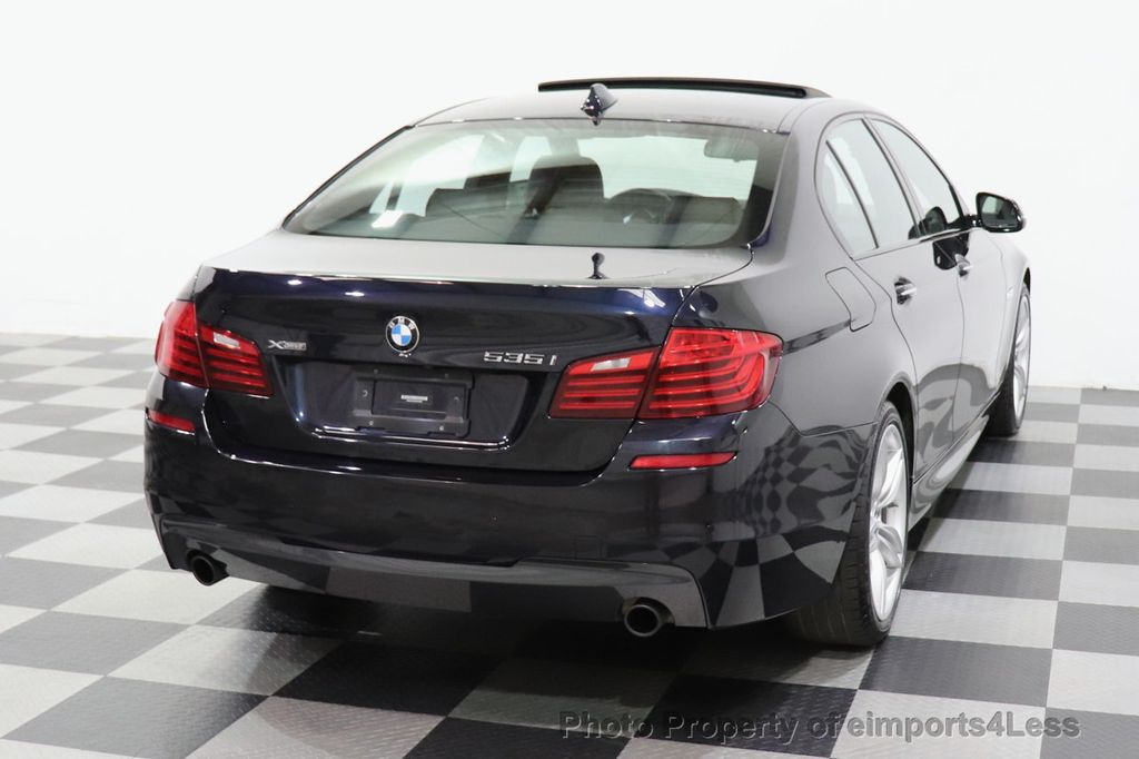 2016 BMW 5 Series CERTIFIED 535i xDrive M Sport AWD HUD LED CAM NAV - 18518155 - 30