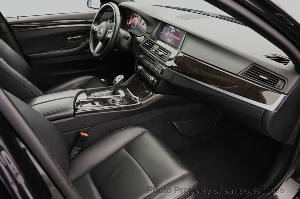 2016 BMW 5 Series CERTIFIED 535i xDrive M Sport AWD HUD LED CAM NAV - 18518155 - 37