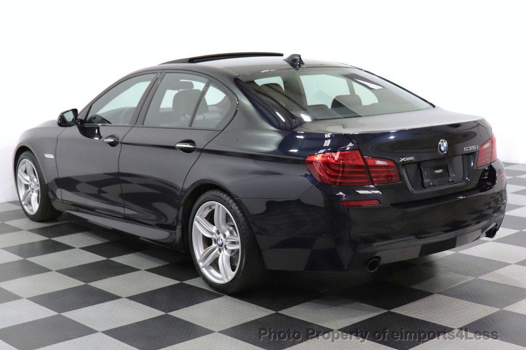 2016 BMW 5 Series CERTIFIED 535i xDrive M Sport AWD HUD LED CAM NAV - 18518155 - 3