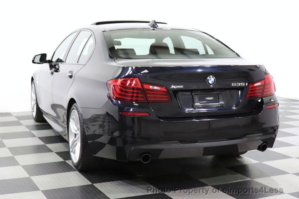 2016 BMW 5 Series CERTIFIED 535i xDrive M Sport AWD HUD LED CAM NAV - 18518155 - 41