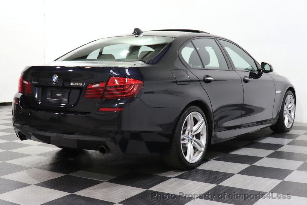 2016 BMW 5 Series CERTIFIED 535i xDrive M Sport AWD HUD LED CAM NAV - 18518155 - 42