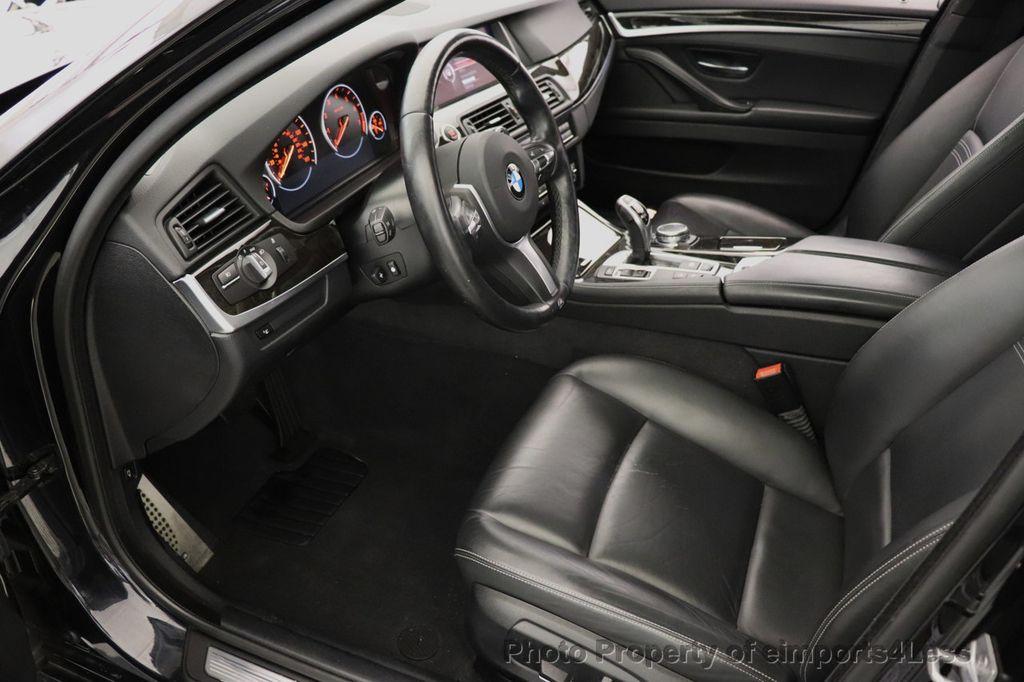 2016 BMW 5 Series CERTIFIED 535i xDrive M Sport AWD HUD LED CAM NAV - 18518155 - 44