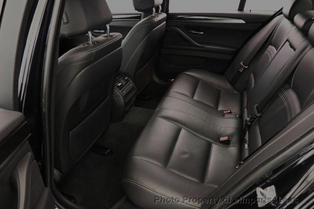 2016 BMW 5 Series CERTIFIED 535i xDrive M Sport AWD HUD LED CAM NAV - 18518155 - 47