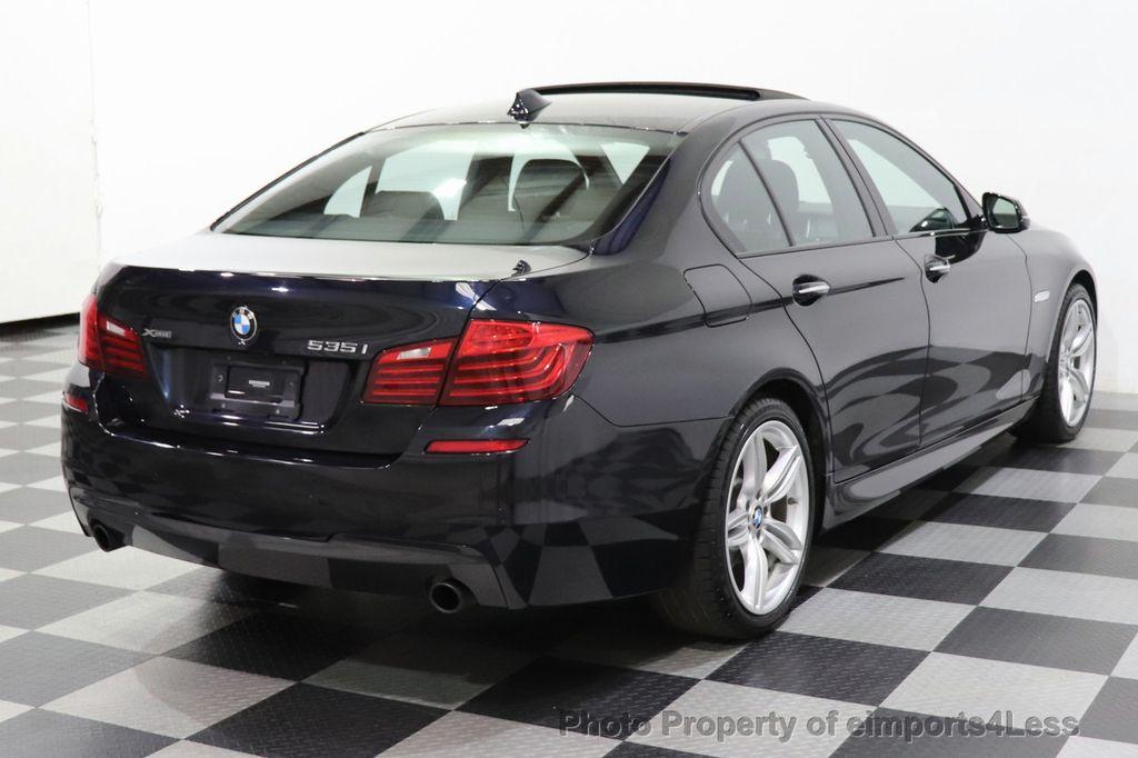 2016 BMW 5 Series CERTIFIED 535i xDrive M Sport AWD HUD LED CAM NAV - 18518155 - 4