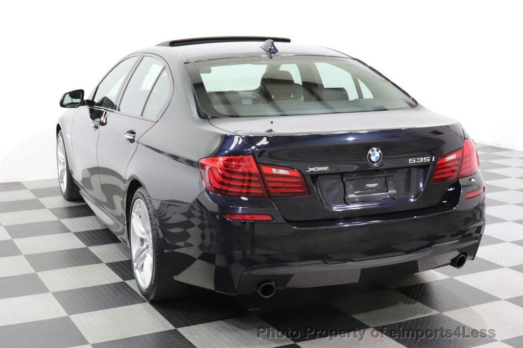 2016 BMW 5 Series CERTIFIED 535i xDrive M Sport AWD HUD LED CAM NAV - 18518155 - 51
