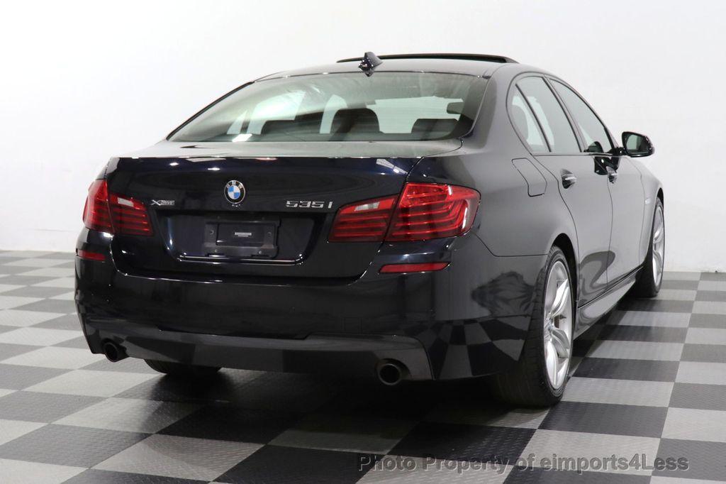 2016 BMW 5 Series CERTIFIED 535i xDrive M Sport AWD HUD LED CAM NAV - 18518155 - 52