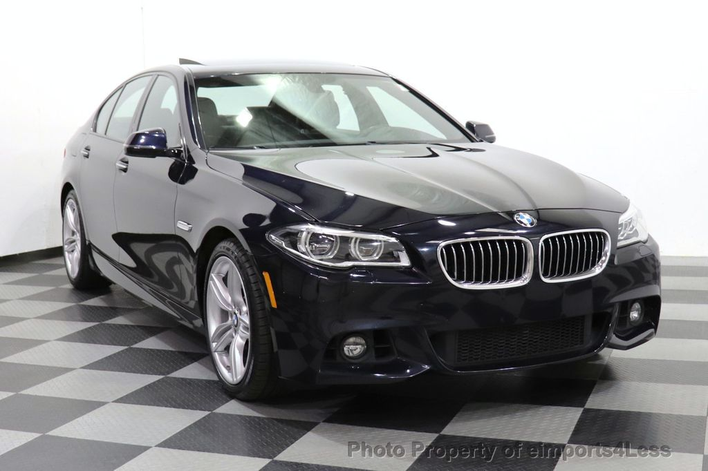 2016 BMW 5 Series CERTIFIED 535i xDrive M Sport AWD HUD LED CAM NAV - 18518155 - 53