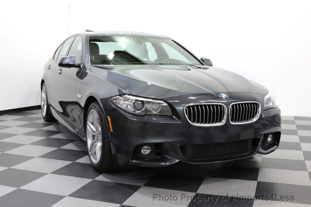 2016 BMW 5 Series CERTIFIED 535i xDRIVE M Sport Package AWD CAMERA NAVI - 18368574 - 10