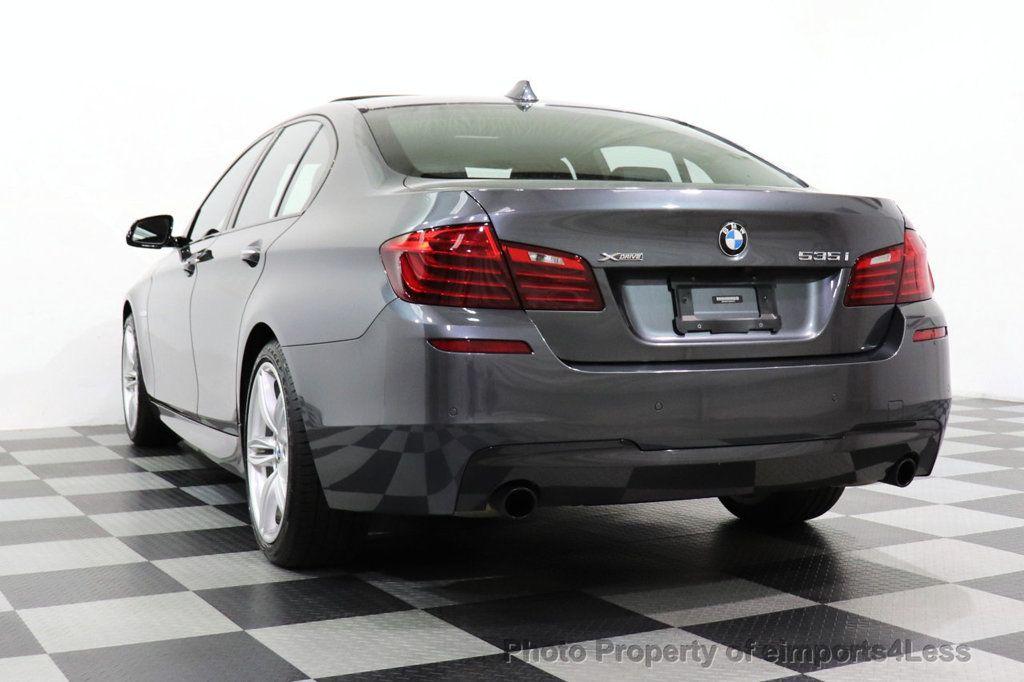 2016 BMW 5 Series CERTIFIED 535i xDRIVE M Sport Package AWD CAMERA NAVI - 18368574 - 13