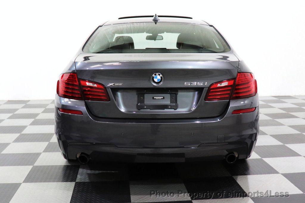 2016 BMW 5 Series CERTIFIED 535i xDRIVE M Sport Package AWD CAMERA NAVI - 18368574 - 14