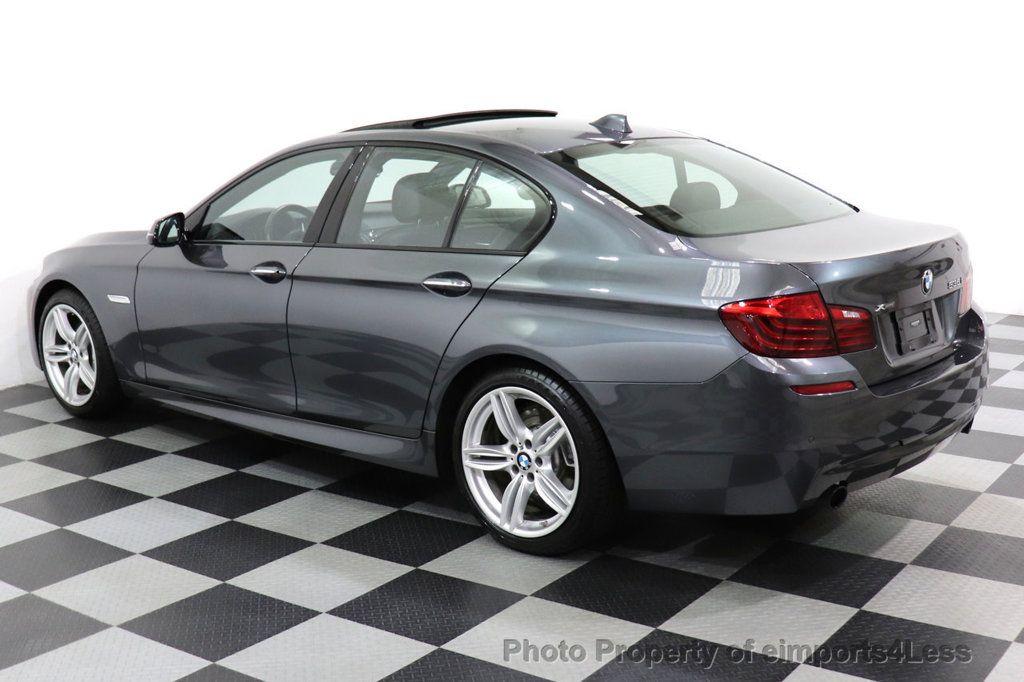 2016 BMW 5 Series CERTIFIED 535i xDRIVE M Sport Package AWD CAMERA NAVI - 18368574 - 24