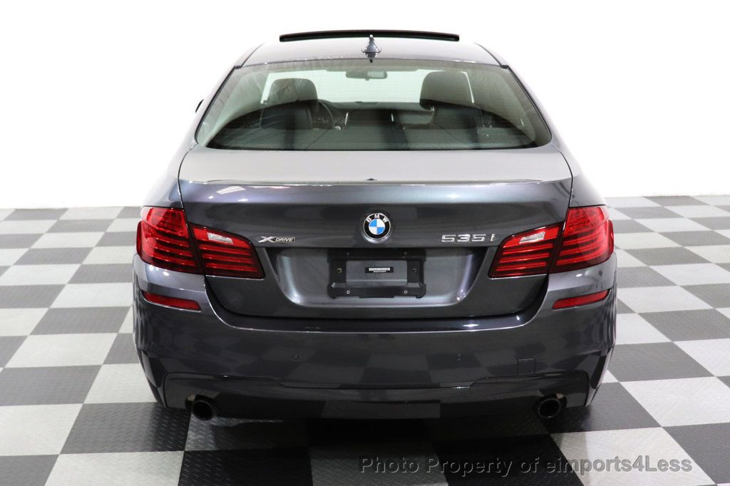 2016 BMW 5 Series CERTIFIED 535i xDRIVE M Sport Package AWD CAMERA NAVI - 18368574 - 25