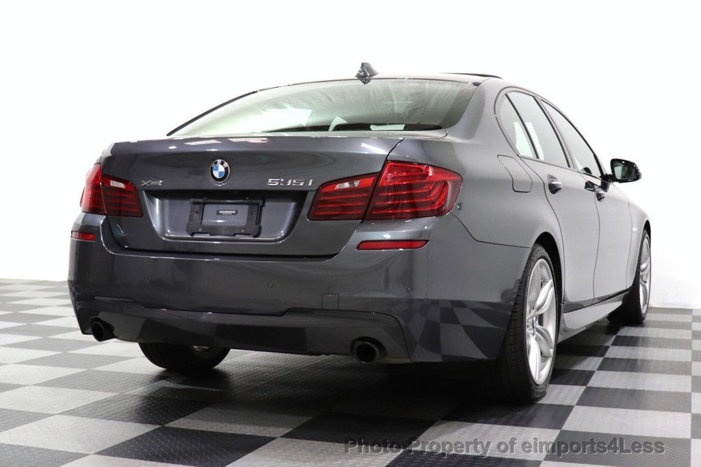 2016 BMW 5 Series CERTIFIED 535i xDRIVE M Sport Package AWD CAMERA NAVI - 18368574 - 26