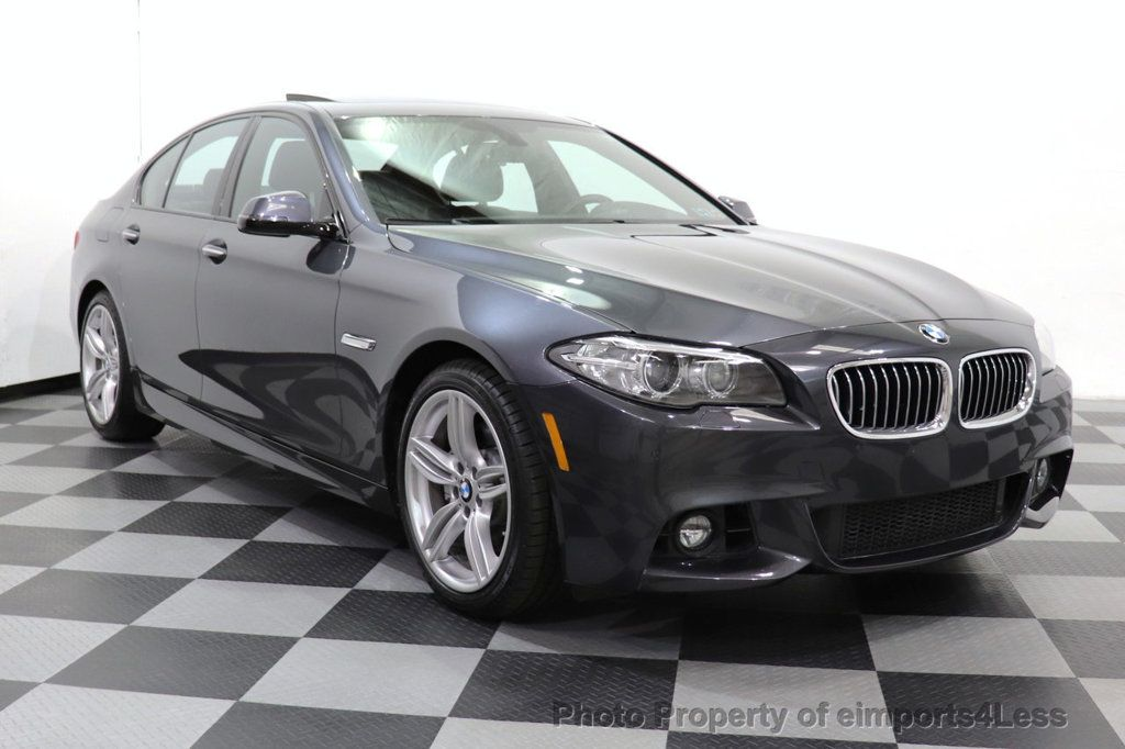 2016 BMW 5 Series CERTIFIED 535i xDRIVE M Sport Package AWD CAMERA NAVI - 18368574 - 2