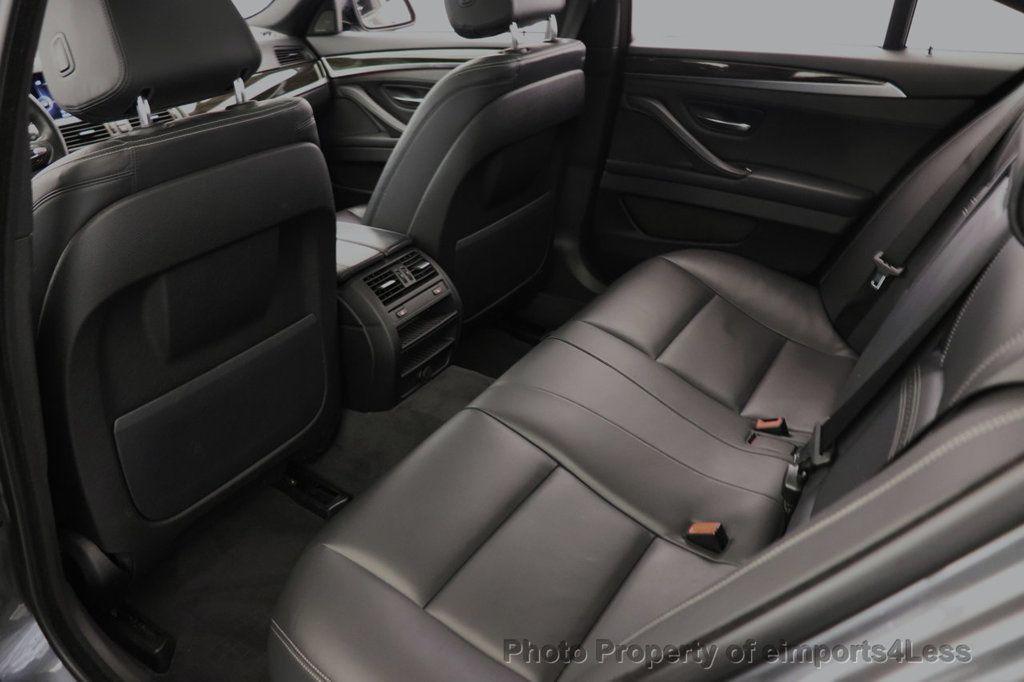 2016 BMW 5 Series CERTIFIED 535i xDRIVE M Sport Package AWD CAMERA NAVI - 18368574 - 30