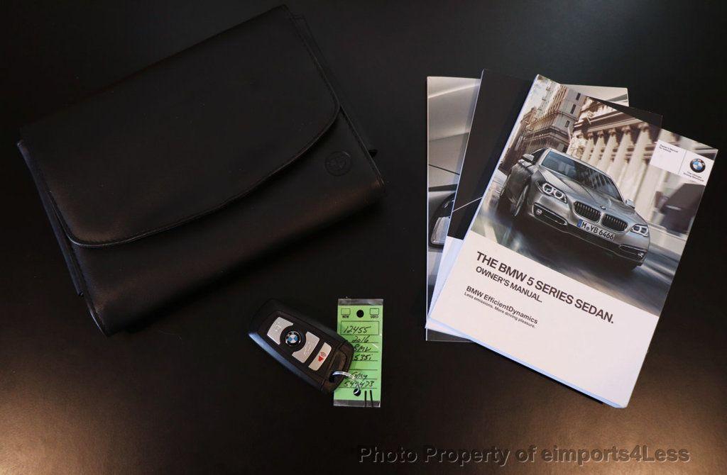 2016 BMW 5 Series CERTIFIED 535i xDRIVE M Sport Package AWD CAMERA NAVI - 18368574 - 34