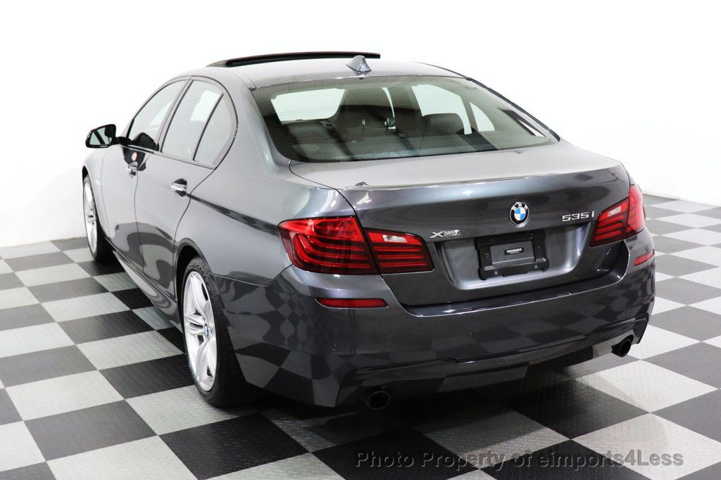 2016 BMW 5 Series CERTIFIED 535i xDRIVE M Sport Package AWD CAMERA NAVI - 18368574 - 34