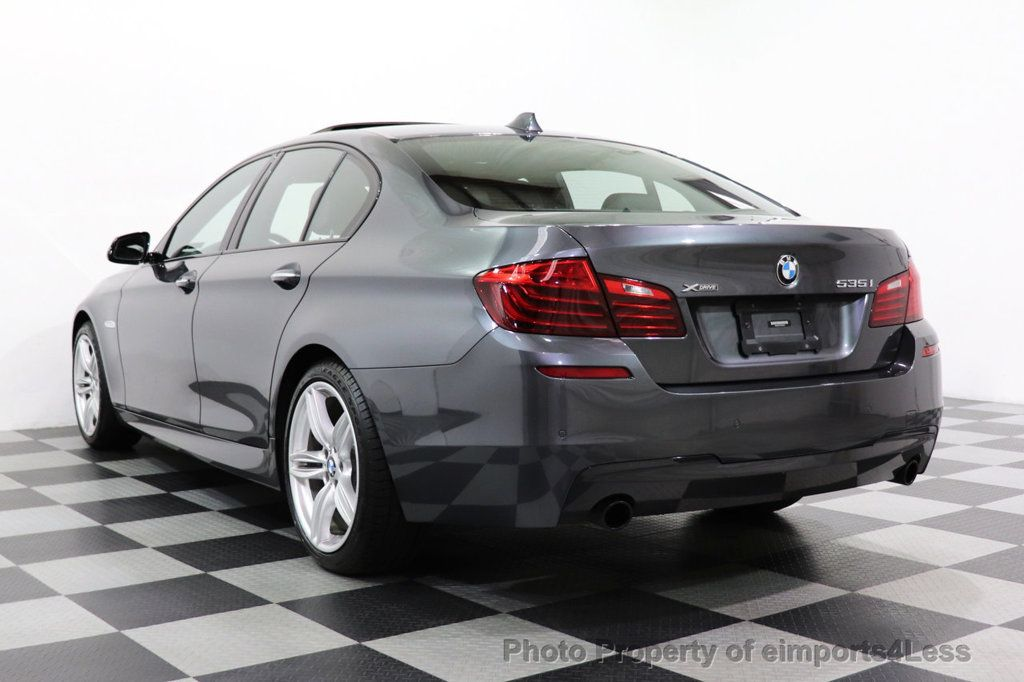 2016 BMW 5 Series CERTIFIED 535i xDRIVE M Sport Package AWD CAMERA NAVI - 18368574 - 3