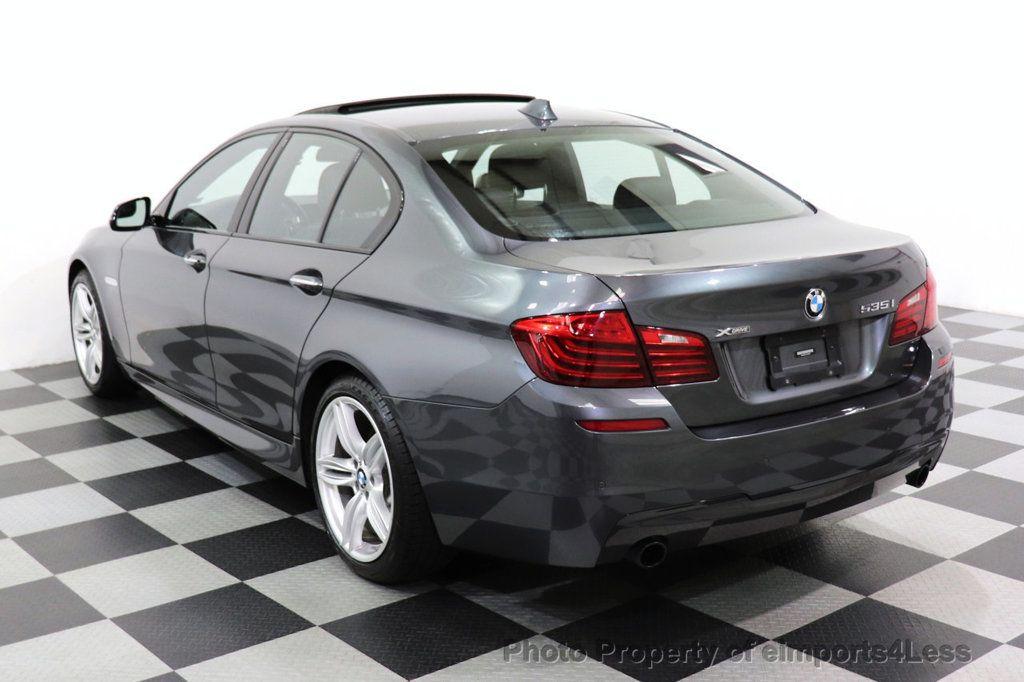 2016 BMW 5 Series CERTIFIED 535i xDRIVE M Sport Package AWD CAMERA NAVI - 18368574 - 44
