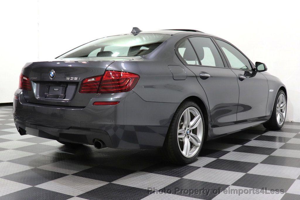 2016 BMW 5 Series CERTIFIED 535i xDRIVE M Sport Package AWD CAMERA NAVI - 18368574 - 45