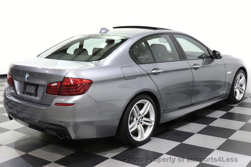 2016 BMW 5 Series CERTIFIED 535i xDrive M SPORT PREMIUM AWD HUD HK CAM NAV - 18448596 - 12
