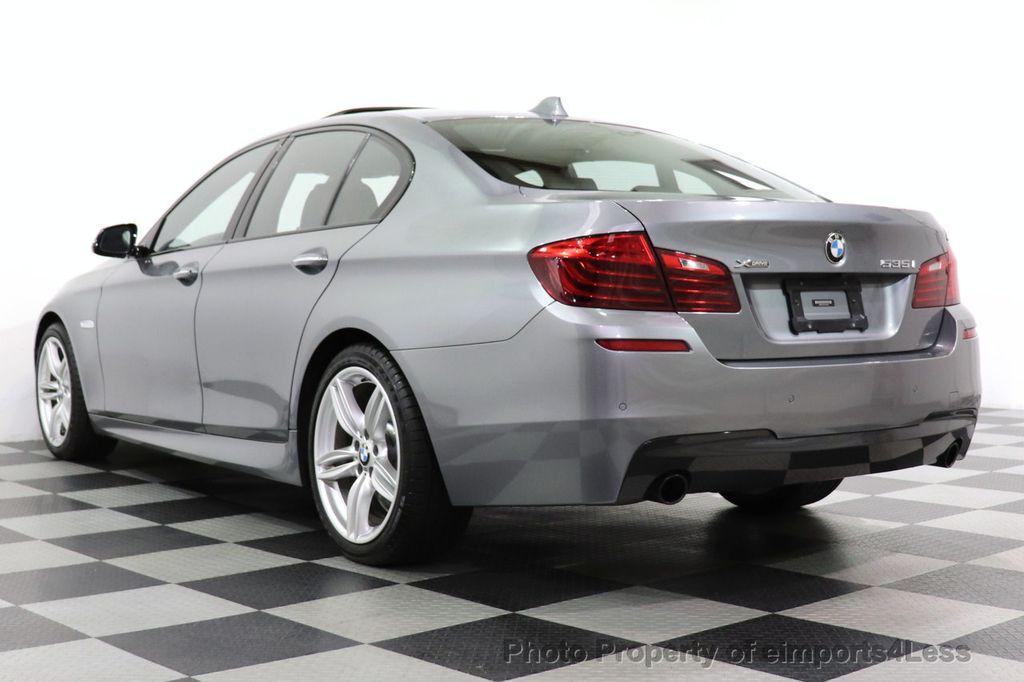 2016 BMW 5 Series CERTIFIED 535i xDrive M SPORT PREMIUM AWD HUD HK CAM NAV - 18448596 - 17