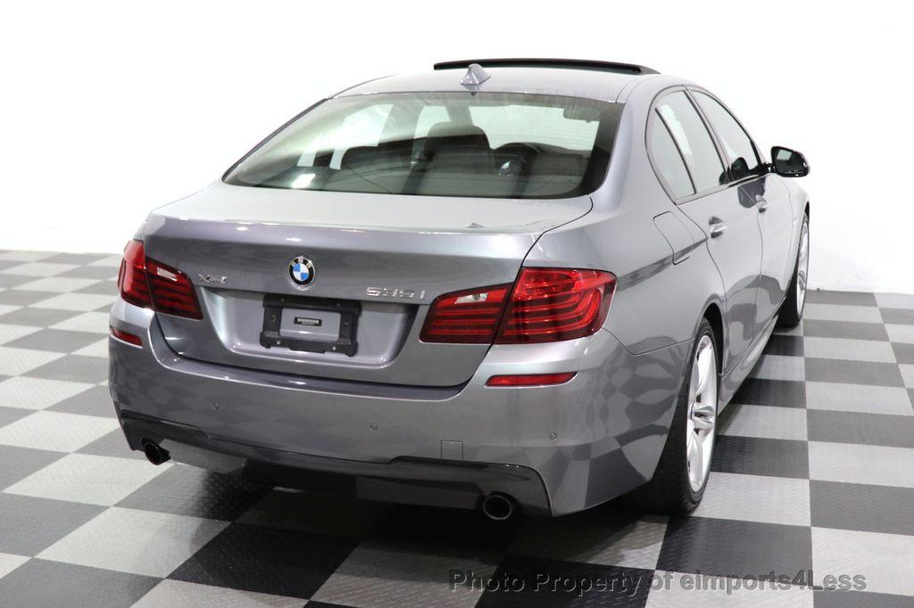2016 BMW 5 Series CERTIFIED 535i xDrive M SPORT PREMIUM AWD HUD HK CAM NAV - 18448596 - 19