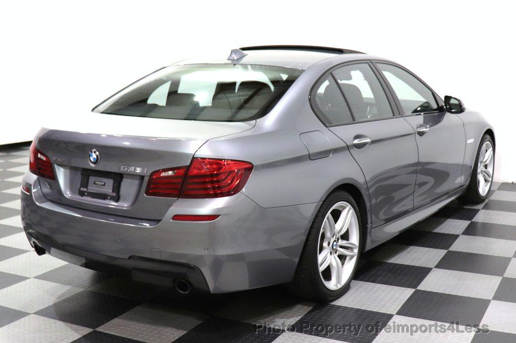 2016 BMW 5 Series CERTIFIED 535i xDrive M SPORT PREMIUM AWD HUD HK CAM NAV - 18448596 - 26
