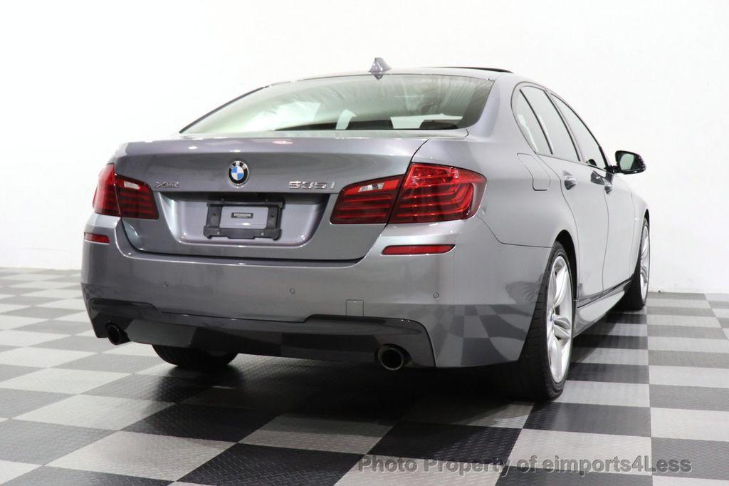 2016 BMW 5 Series CERTIFIED 535i xDrive M SPORT PREMIUM AWD HUD HK CAM NAV - 18448596 - 29