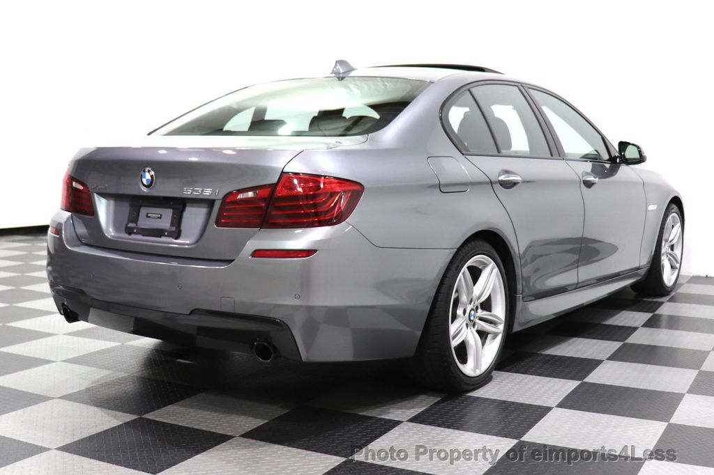 2016 BMW 5 Series CERTIFIED 535i xDrive M SPORT PREMIUM AWD HUD HK CAM NAV - 18448596 - 3