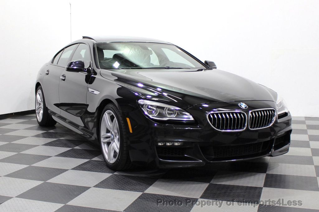 2016 BMW 6 Series CERTIFIED 640i xDrive M Sport Edition AWD GC HUD NAV CAM - 18699644 - 15