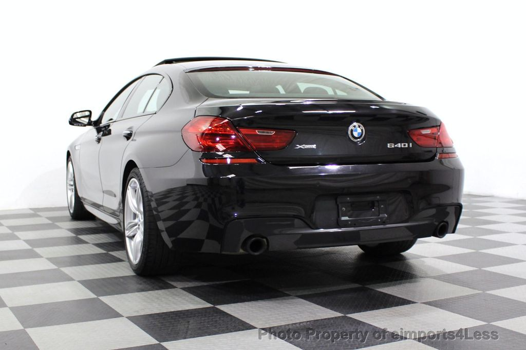 2016 BMW 6 Series CERTIFIED 640i xDrive M Sport Edition AWD GC HUD NAV CAM - 18699644 - 17