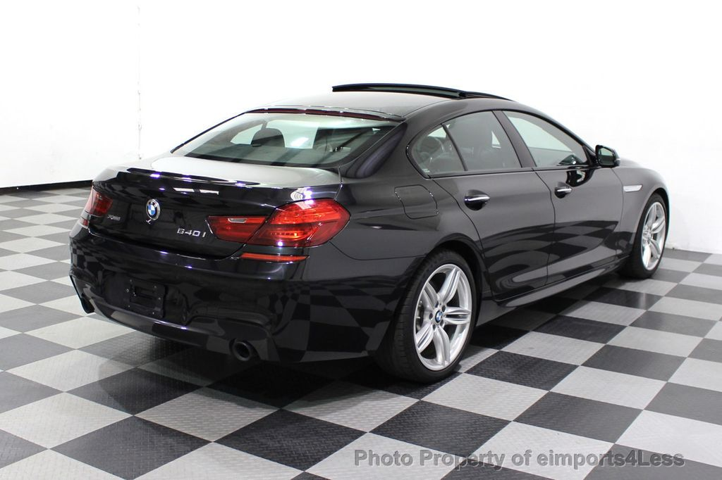 2016 BMW 6 Series CERTIFIED 640i xDrive M Sport Edition AWD GC HUD NAV CAM - 18699644 - 19