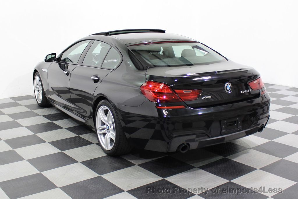 2016 BMW 6 Series CERTIFIED 640i xDrive M Sport Edition AWD GC HUD NAV CAM - 18699644 - 2