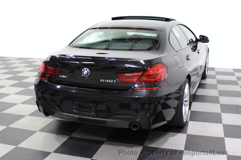 2016 BMW 6 Series CERTIFIED 640i xDrive M Sport Edition AWD GC HUD NAV CAM - 18699644 - 33