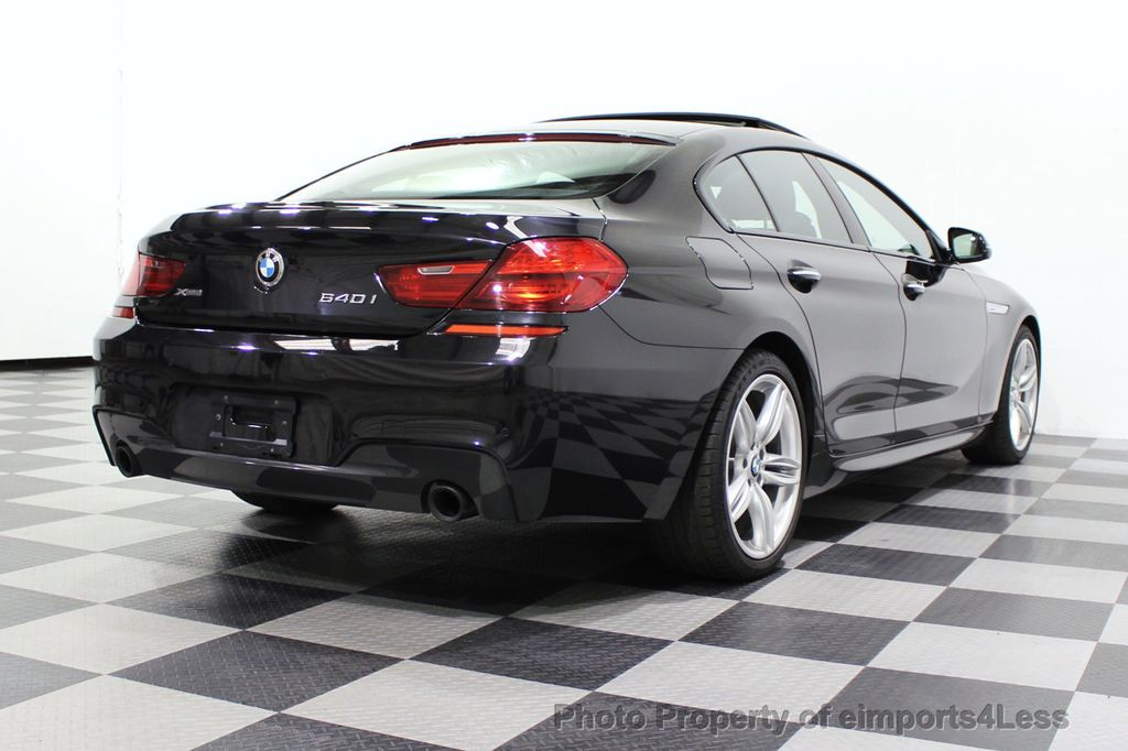 2016 BMW 6 Series CERTIFIED 640i xDrive M Sport Edition AWD GC HUD NAV CAM - 18699644 - 3