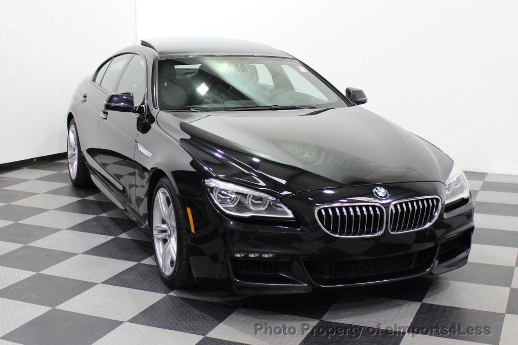 2016 BMW 6 Series CERTIFIED 640i xDrive M Sport Edition AWD GC HUD NAV CAM - 18699644 - 45