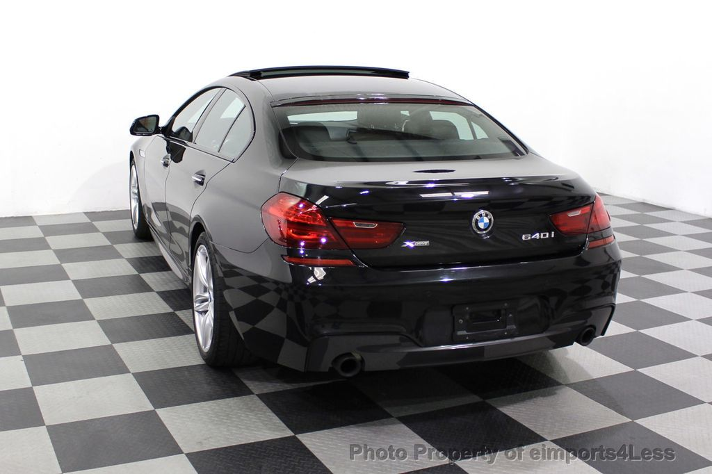 2016 BMW 6 Series CERTIFIED 640i xDrive M Sport Edition AWD GC HUD NAV CAM - 18699644 - 46