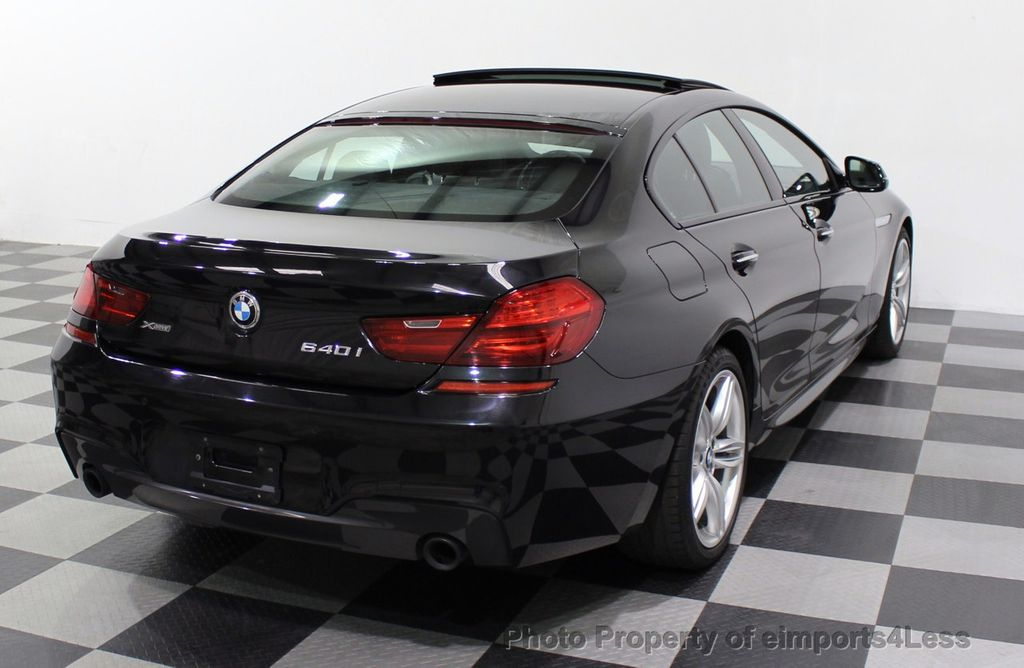 2016 BMW 6 Series CERTIFIED 640i xDrive M Sport Edition AWD GC HUD NAV CAM - 18699644 - 47