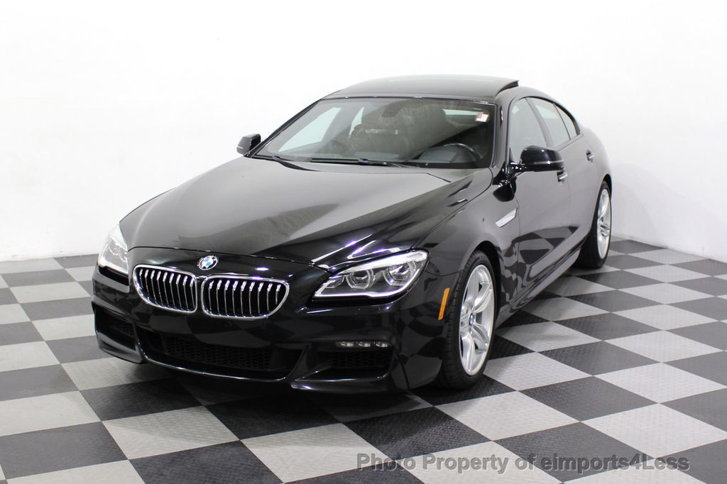 2016 BMW 6 Series CERTIFIED 640i xDrive M Sport Edition AWD GC HUD NAV CAM - 18699644 - 52