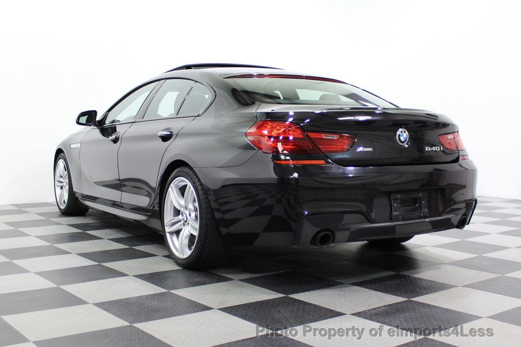 2016 BMW 6 Series CERTIFIED 640i xDrive M Sport Edition AWD GC HUD NAV CAM - 18699644 - 53