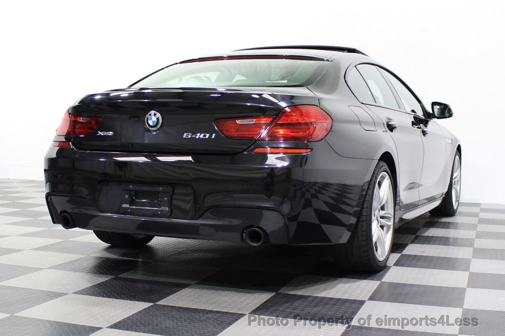 2016 BMW 6 Series CERTIFIED 640i xDrive M Sport Edition AWD GC HUD NAV CAM - 18699644 - 54