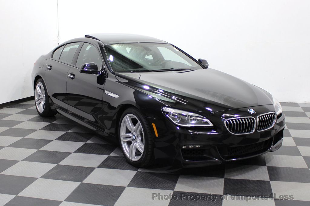 2016 BMW 6 Series CERTIFIED 640i xDrive M Sport Edition AWD GC HUD NAV CAM - 18699644 - 55