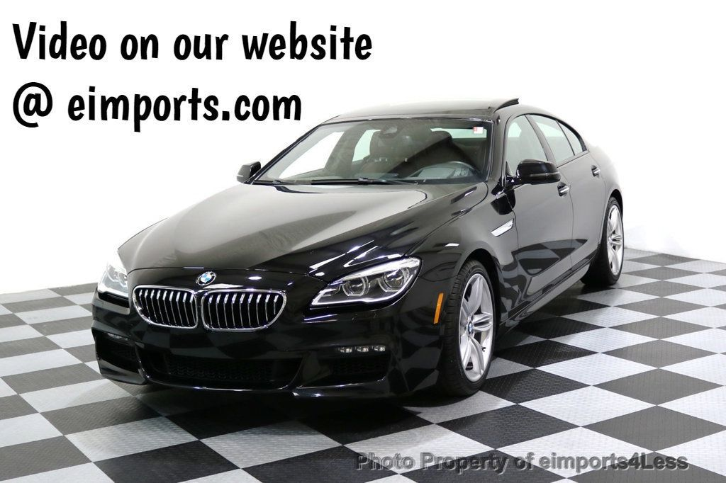2016 BMW 6 Series CERTIFIED 640i xDRIVE M Sport Gran Coupe DRIVER ASSIST PLUS - 17425269 - 0